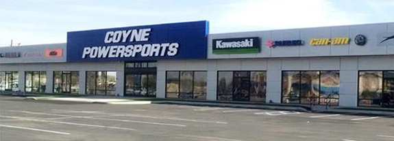 Coyne Powersports - El Centro and Banning, CA - Offering New